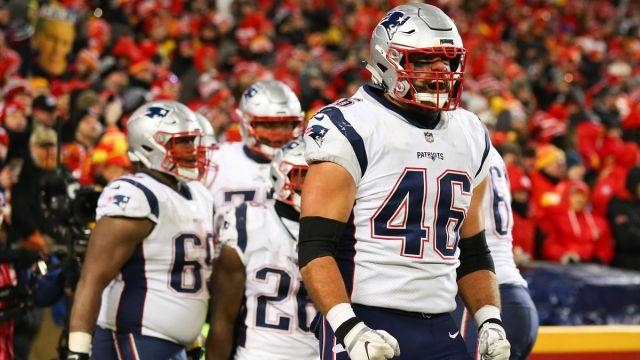 New England Patriots fullback James Develin