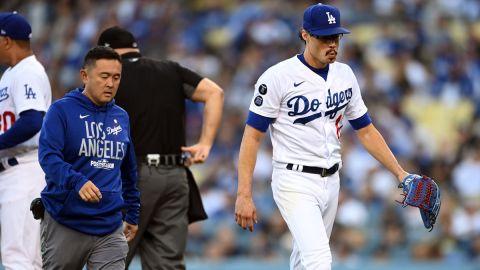 Los Angeles Dodgers pitcher Joe Kelly