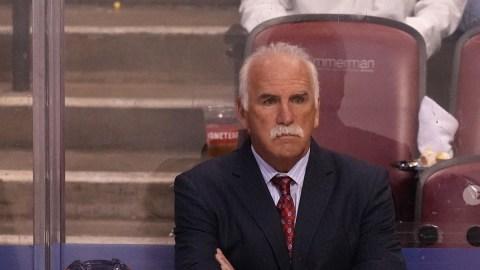 Florida Panthers head coach Joel Quenneville