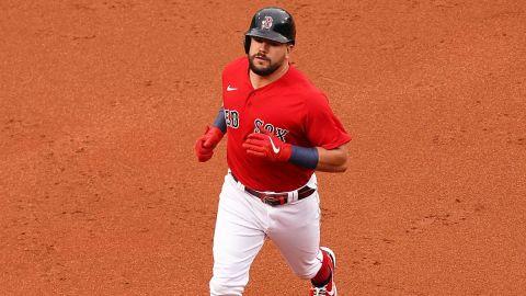 Boston Red Sox first baseman Kyle Schwarber