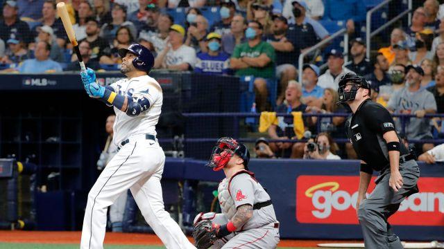 Tampa Bay Rays designated hitter Nelson Cruz