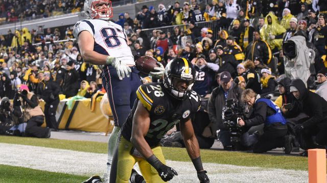 New England Patriots safety Sean Davis
