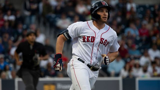 Worcester Red Sox first baseman Triston Casas